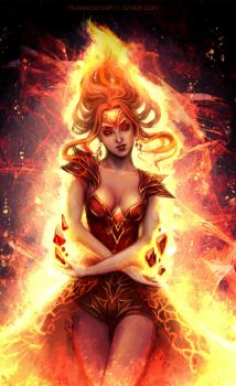 Flame Princess by Fluorescence911