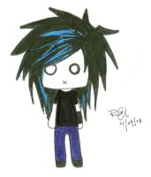 Tokio Hotel Bill chibi by HEARTcoffe