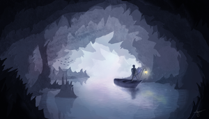 The cave by valdania