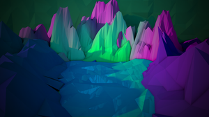 Low Poly Mountain thing Edit by AudioPhonics