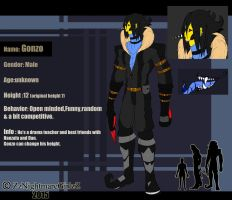::Gonzo Reference Sheet:: by ZzNightmareGirlzZ