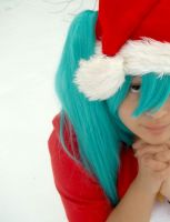 Christmas Miku by jessthecase88