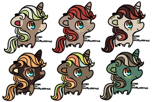 Unicorn Adopts [1/6 OPEN] by redroseadopts