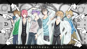 HBD Kurin: 6 male cast Shiryoku Kensa by razephyr