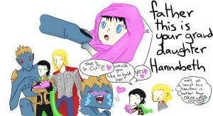 Happy Fathers Day Laufey by SeniorPotato