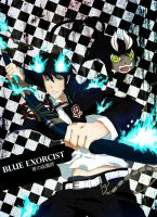 Ao no Exorcist: Rin Okumura by babo-sparkle