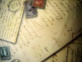 Old pile of letters II by Zai-stock