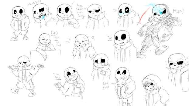 smol skele by EnamoredGhost