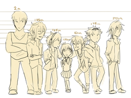 KimiNoKOE Heights Chart by Petrotasia