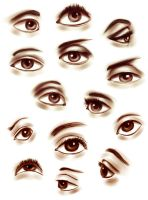 Eyes Practice by R-no71
