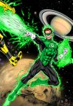 Green Lantern Kicks Ass by statman71