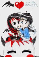 Chibi love by ArmoGirl5