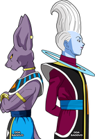 Bills y Whis FNF by SaoDVD