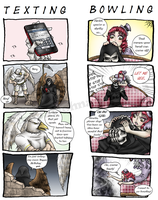 Reaper and Friends by Michelangeline