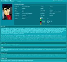 Davon Character Info by Thagirion