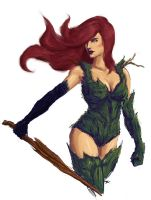 Rotworld Poison Ivy by brianlaborada