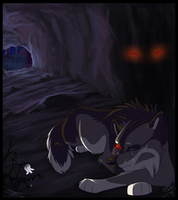 Hiding from my shadow- kaylink by Kairi292