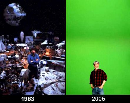 George Lucas' special effects by meovereurope