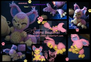 Amigurumi Skitty by JB-Pawstep