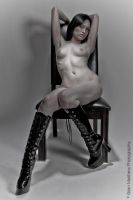 Chair Nude No 2 by BrianMPhotography