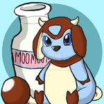 :Digital Doodles: (Baby) Shiny Miltank! by BluAnnaDoodles
