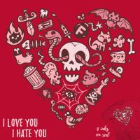 I Love You I Hate You - tee by InfinityWave