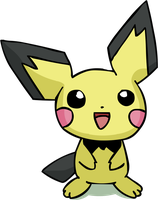 Pichu by TwistedFeverComics