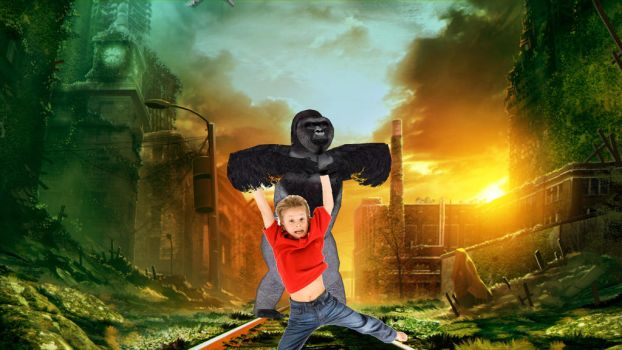 Planet of the apes by AnaticuIa