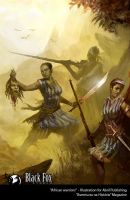 African Warriors by Blackfoxst