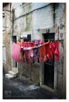 Red Laundry Day by Garelito-Photos