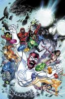 Blackest Night 8 Cover by sinccolor