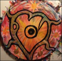 Abstract heart by mgtyler