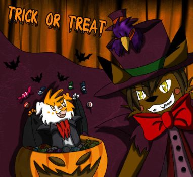 Trick or Treat by superdog1994