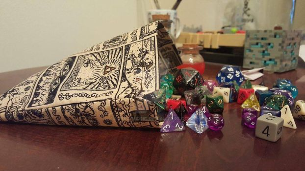 Dice on the Side...Pouch! by Misc-Magic