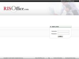 RISOffice.com - Login Sreen by informer