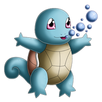 Pokedex 007: Squirtle- Bubble by izka197