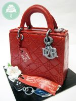 Lady Dior (Cake) by Sliceofcake