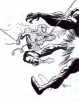Spidey VS venom by RyanOttley