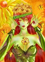 .: Flower Elf:. by lulufangirl