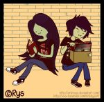 Marceline x Marshall Lee (Something About Nothing) by ErikReys