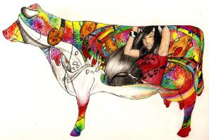 Art of Dairy: Taste The Moosic by cresent-lunette
