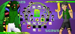 Homestuck The Game Lord English VS Jake English by Video320