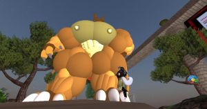 Hyper Huge Extreme Bodybuilder Charizard photo2 by SUPREMOXQ15