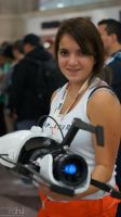 NYCC 2012 - Chell by BluePhoenix-Ra