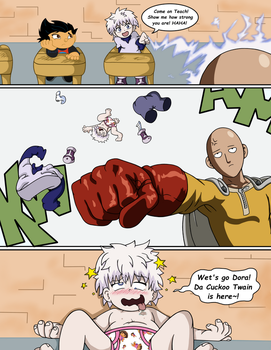 Anime-Toon Institute - Part 3: One Punch! by SDCharm