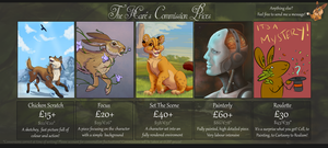 Digital Commission Info 2016 by The-Hare