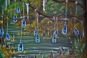 The Southern Bottle Tree by Spiritsearch