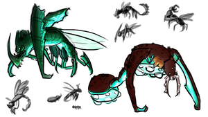 Bugs and Beasties by krillatron