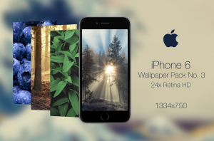 Retina HD Wallpaper Pack No. 3 - iPhone 6 / 6S by pddeluxe