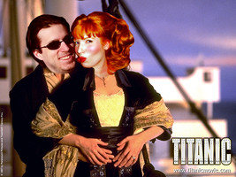 Titanic with Spoony by WizWar100